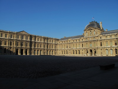 Cour Carrée du Louvre in Paris, France